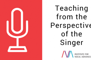 Teaching from the Perspective of the Singer