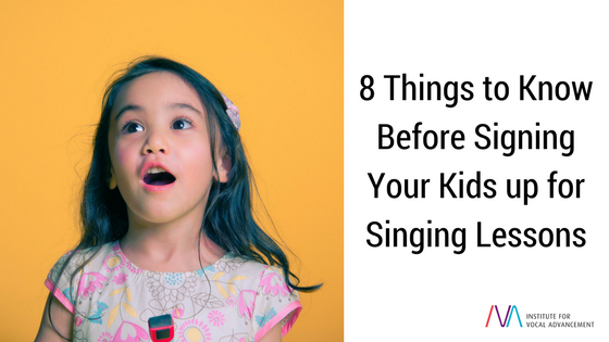 8 Things Kids Need To Do By Themselves >> 8 Things To Know Before Signing Your Kids Up For Singing Lessons