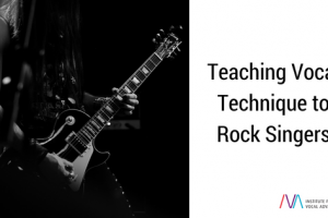 Teaching vocal technique to rock singers